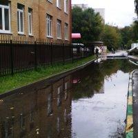 По городу дождик осенний гулял, зеркальце дождик свое потерял,зеркальце то на асфальте лежит... :: Ольга Кривых