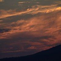 Закат в Кринице. Небо в огне :: Юлия Жогина