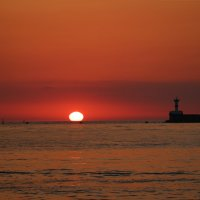 Закат над Черным морем :: Илья Родионов