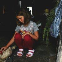 Анастасия и ее курочка :: Сергей Богов