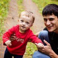 Сашка с папой :: Елена Задко