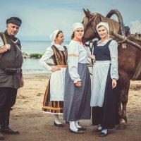 Эстонские девушки времен ВОВ :: Виктор Седов