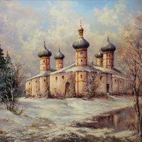 Храм у озера :: Александр Попов