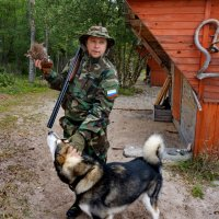 охотник :: Валентина Папилова
