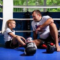 Отец и сын :: Сергей Лелюк