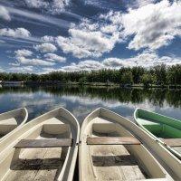 Лодки. :: Николай Емелин