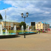 площадь фонтанов :: Ольга (Кошкотень) Медведева