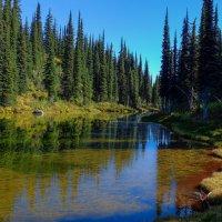 горное озеро на высоте 2 тысячи метров. :: Alexander Hersonski