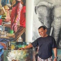 Балийский художник :: Александр