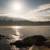 Утро. Река Катунь. :: Евгения Каравашкина