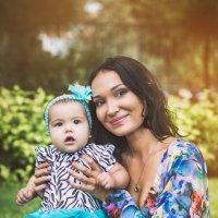 София с мамой Анной :: Мария Дергунова