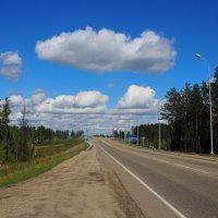 Хорошее настроение-хорошая погода-хорошая дорога... :: Александр Попов