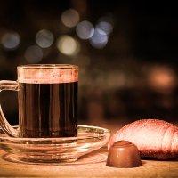 Вечерний кофе :: Женечка Зяленая