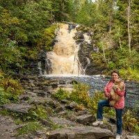 у водопада :: Злата Красовская