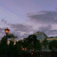 бывший госпиталь на закате :: Александр Прокудин