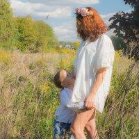 Ожидание вместе с мамой :: Татьяна Мордвинова