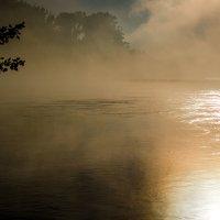 Рассвет в тумане :: Сергей Гундарь