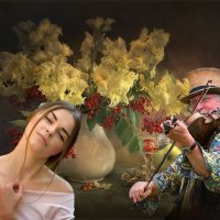 «Осенняя женщина хрупко-прекрасна ...» :: vitalsi Зайцев