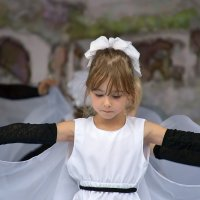 Юная танцовщица. 1000 летие Старой Руссы. :: Sergey Serebrykov