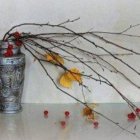 Этюд.Улетают листья. :: Павлова Татьяна Павлова