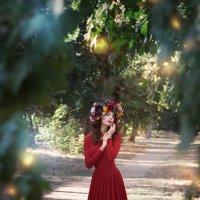 Цветочная фея :: Наталия Карлинская