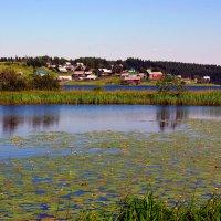 Деревня Андозеро :: Валентин Кузьмин