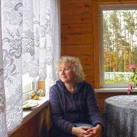 Женщина у окна. :: Андрей Вычегодский