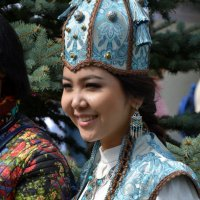 Девушка в голубом. :: Anna Gornostayeva