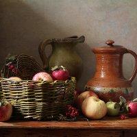 Осенние яблоки :: Карачкова Татьяна
