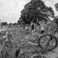 На праздник поэтов, артистов зовут, велосипедисты сами приезжают :: Ирина Данилова