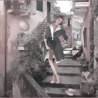 «Я хожу босиком по счастью» :: Angelina Ya