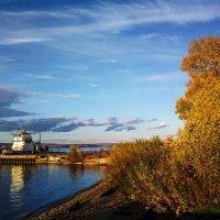 Вечер на реке. :: Валерий Молоток
