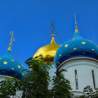 Монастырских церквей купола :: Наталья Маркелова