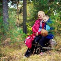 Прогулка в лесу! :: Надежда Подчупова