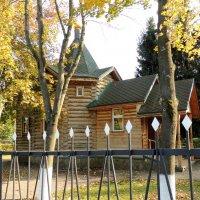 Видное. Церковь Иоанна Воина при учебном центре ГУВД. :: Александр Качалин