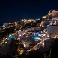 Ночные краски Санторини.. :: Виктор Льготин