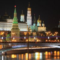 Ночной кремль :: Cаша Макеева