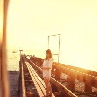 Фотосессия на закате. Кристина :: Марина Щуцких