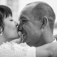 Свадебная фотосессия в студии :: Алёна Колесова