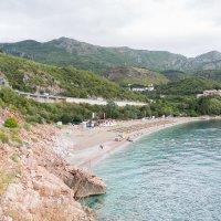 Пляж в Каменово .Черногория. :: Татьяна Калинкина