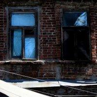 синие окна :: Николай Семёнов