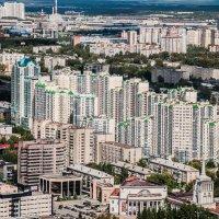 Вид с обзорной площадки Бизнес-центра Высоцкий (188,3 м, 54 этажа) :: Михаил Вандич