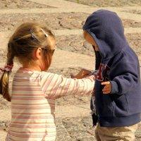 Сестра и брат. :: Елена