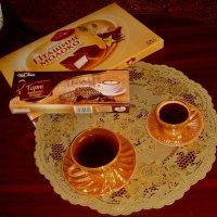 Две чашечки кофе :: Нина Корешкова