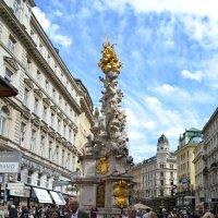 Чумной столб в Вене :: Ольга