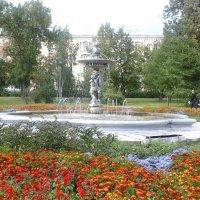 Фонтан возле оперного театра :: Светлана Бажанова