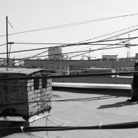 На крыше :: RaflaNa Sama
