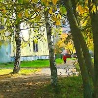 Осень в Молочном :: Валерий Талашов