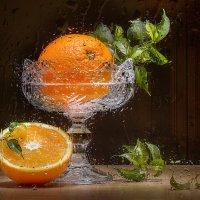 Апельсины за мокрым стеклом :: Светлана Л.