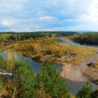 В верховья реки Веснины :: Владимир Звягин